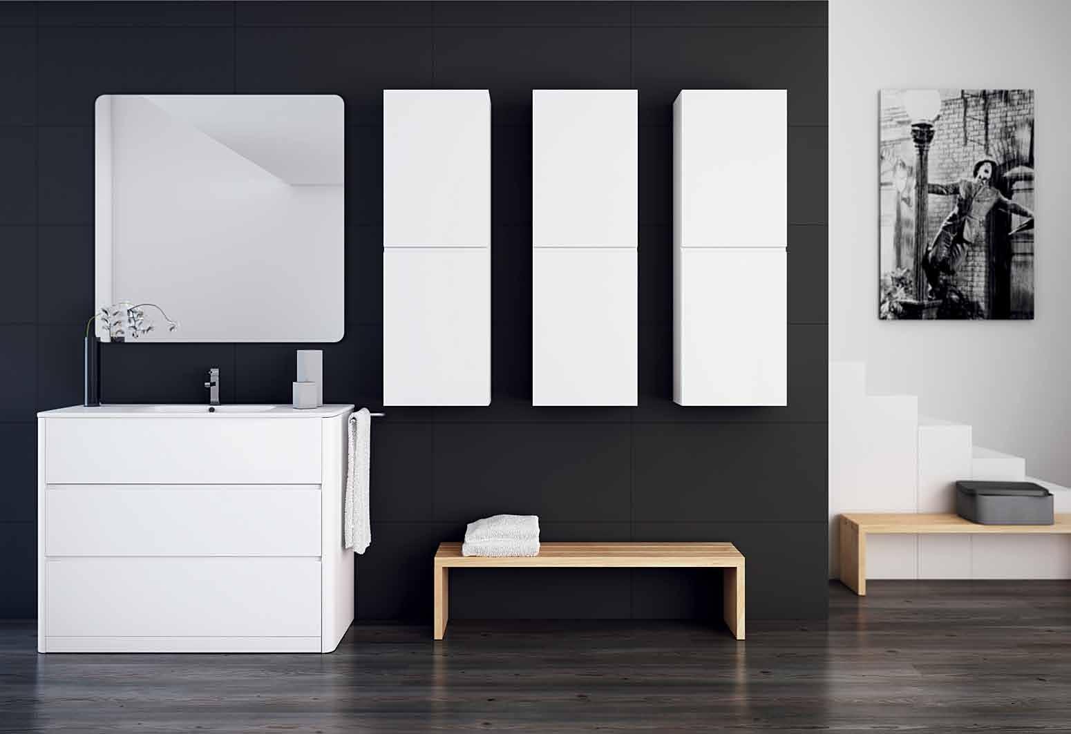 Cuartos de baño modernos en Pozuelo de Alarcón