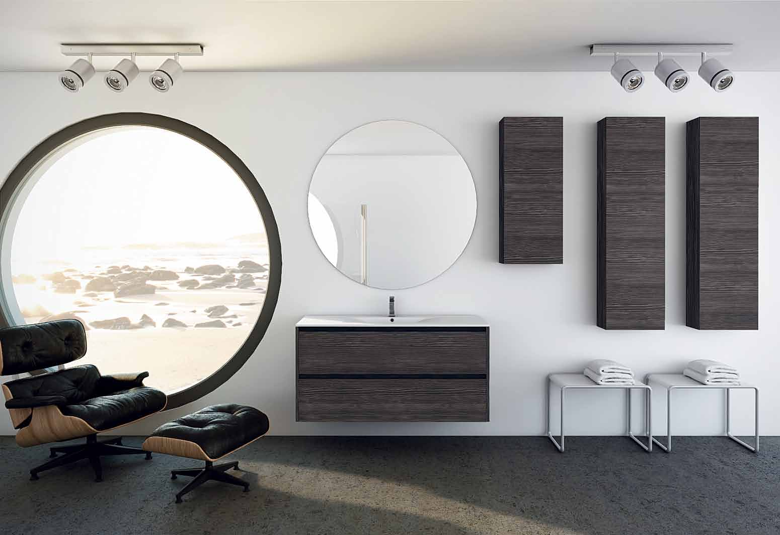 Muebles De Baño En Kit Madrid : Muebles de ba?o para cuartos elegantes y modernos