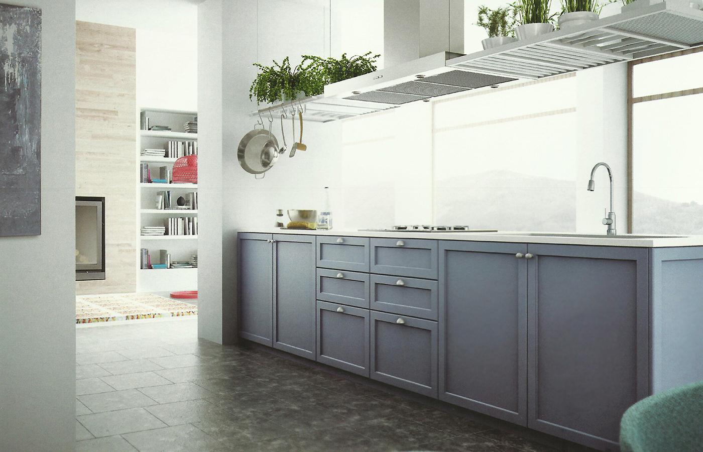 Cocinas rusticas muebles de cocina para cocinas rusticas for Cocinas integrales clasicas