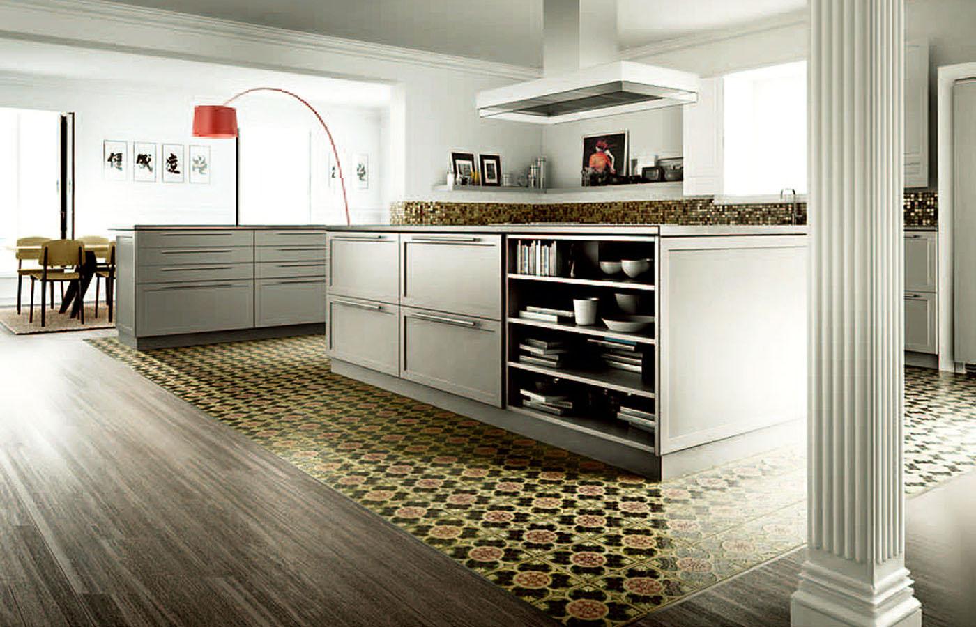 Cocinas c sicas ura muebles de cocina para cocinas - Muebles de cocinas rusticas ...