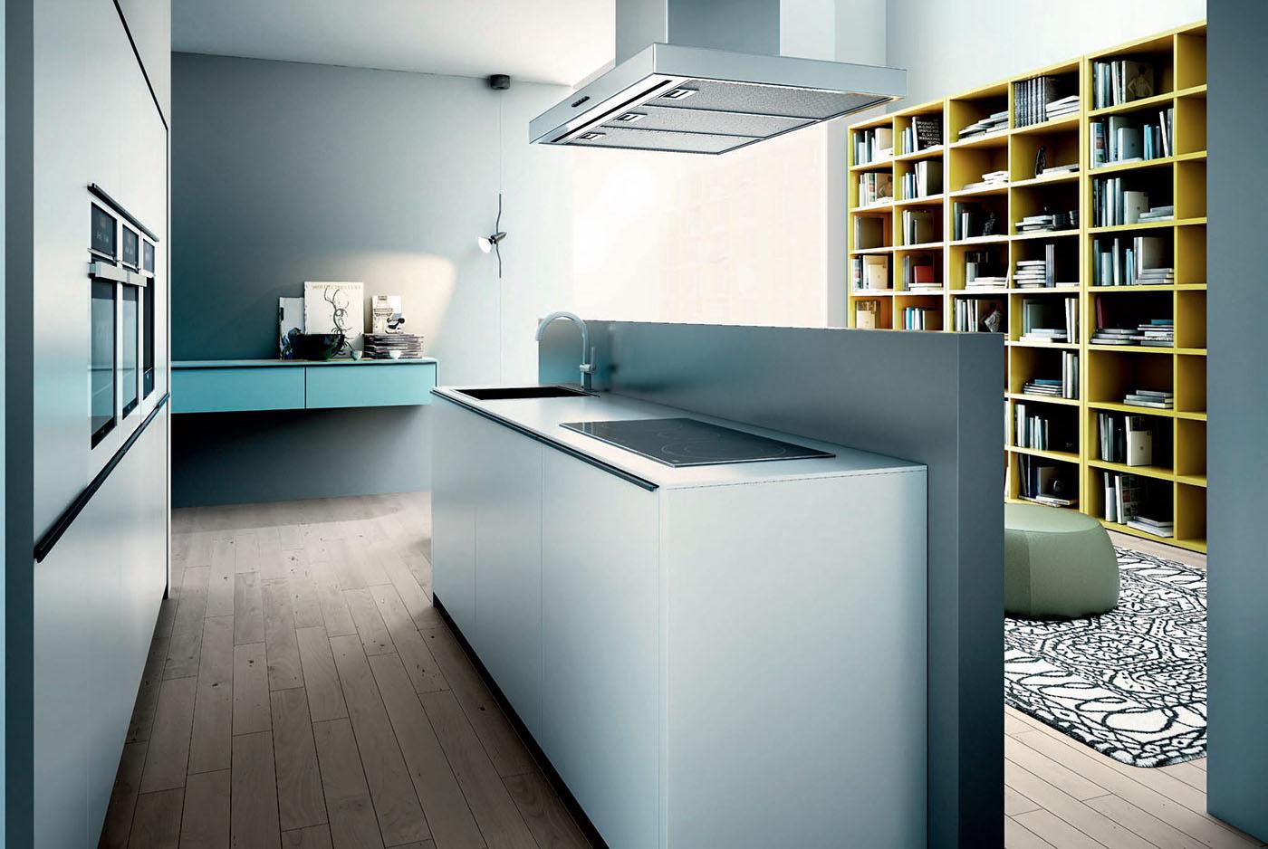 cocinas modernas modelo Glass