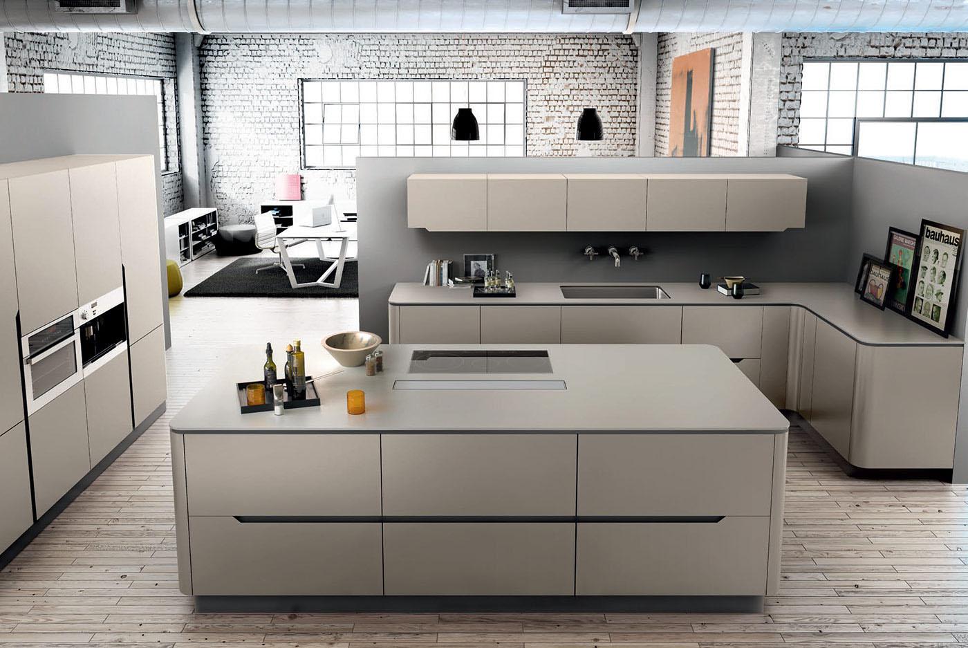 Cocinas modernas cocinas de dise o for Cocinas pequenas disenos modernos