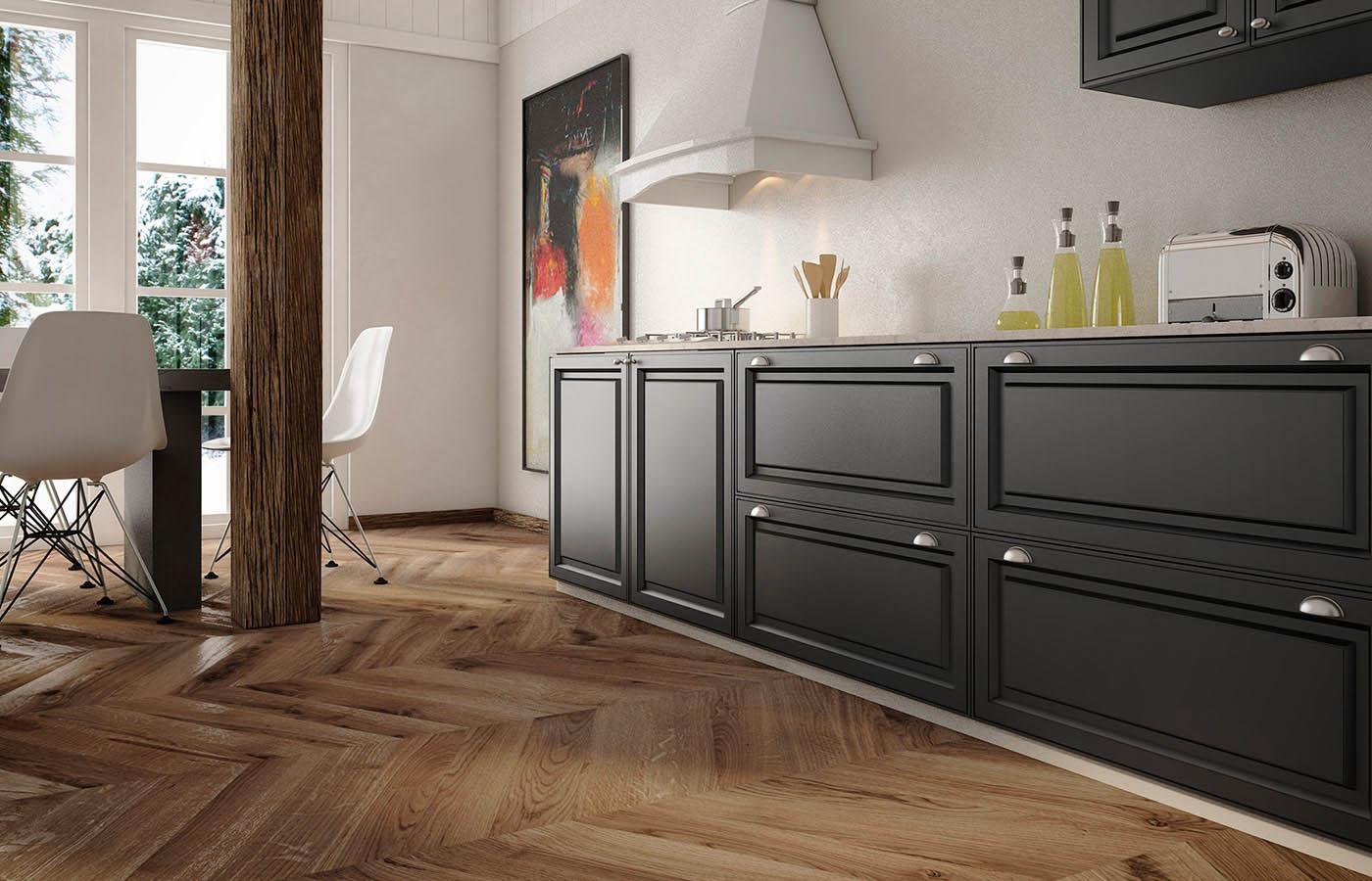 Cocinas rusticas. Muebles de cocina para cocinas rusticas