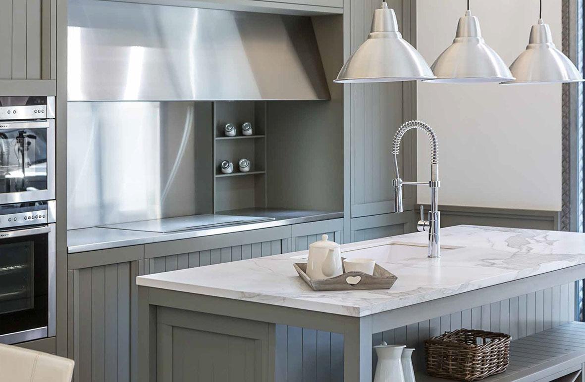 Encimera estatuario silk 12 mm muebles de cocina para - Encimeras de cocina rusticas ...