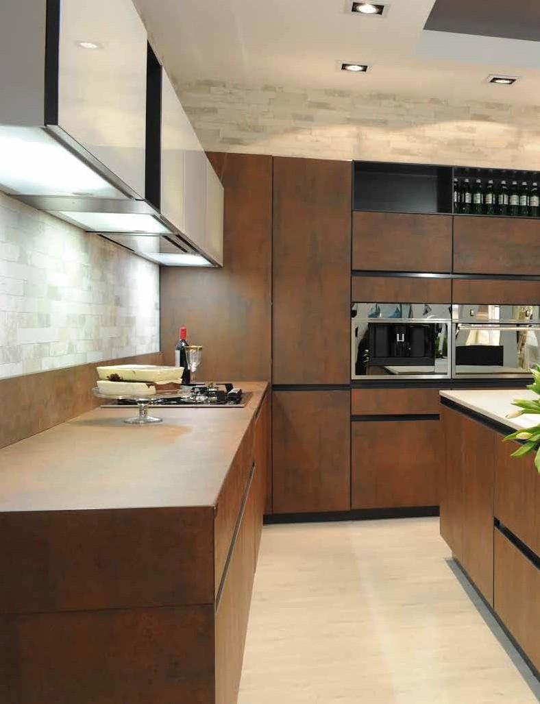Cocinas modernas tendencias en dise o de cocinas 2016 - Muebles para encimeras ...