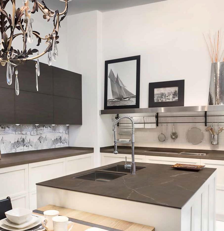 Isla y encimera pulpis silk 12 mm muebles de cocina - Muebles de cocinas rusticas ...