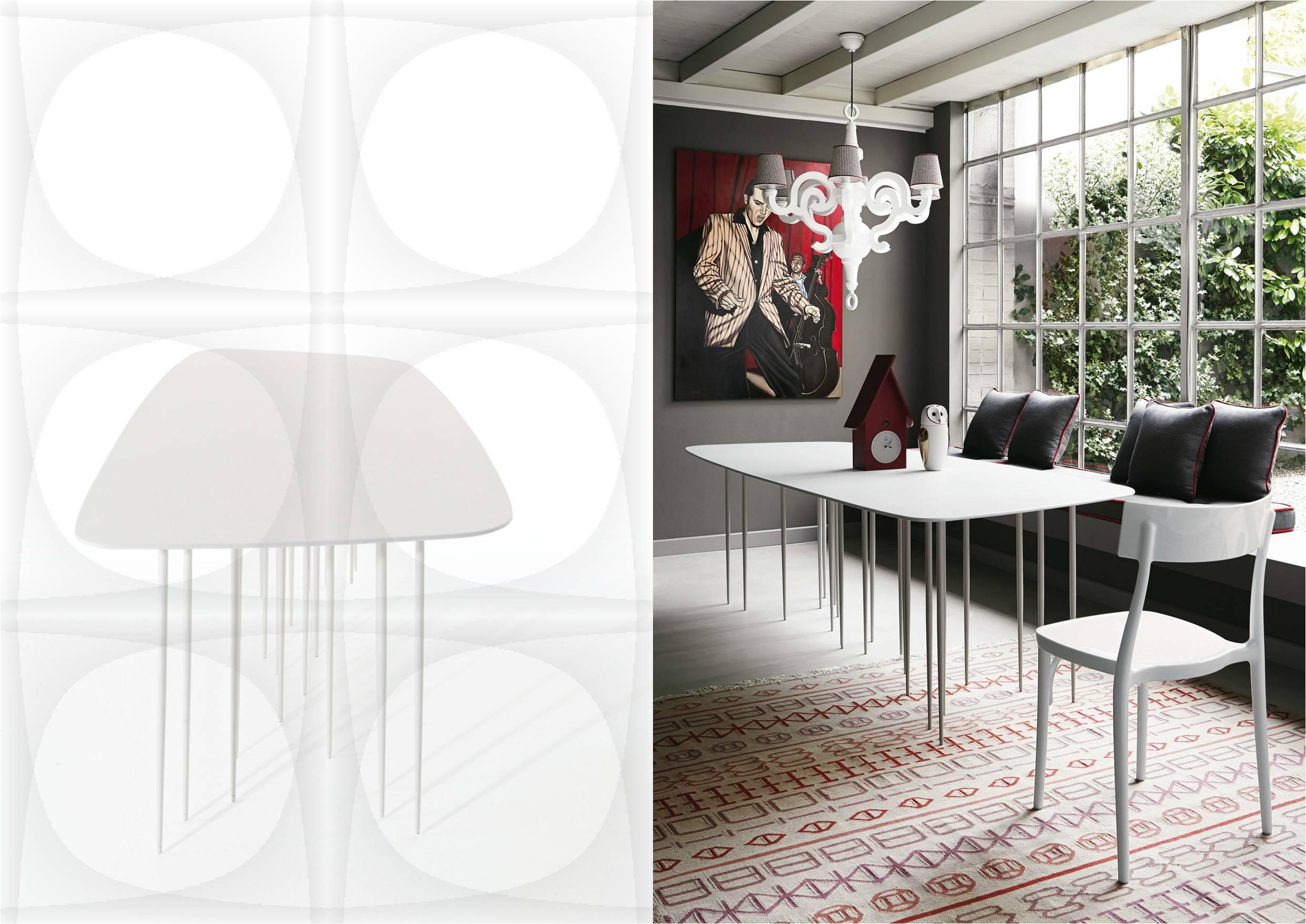 Mesas de comedor modernas -Reeds