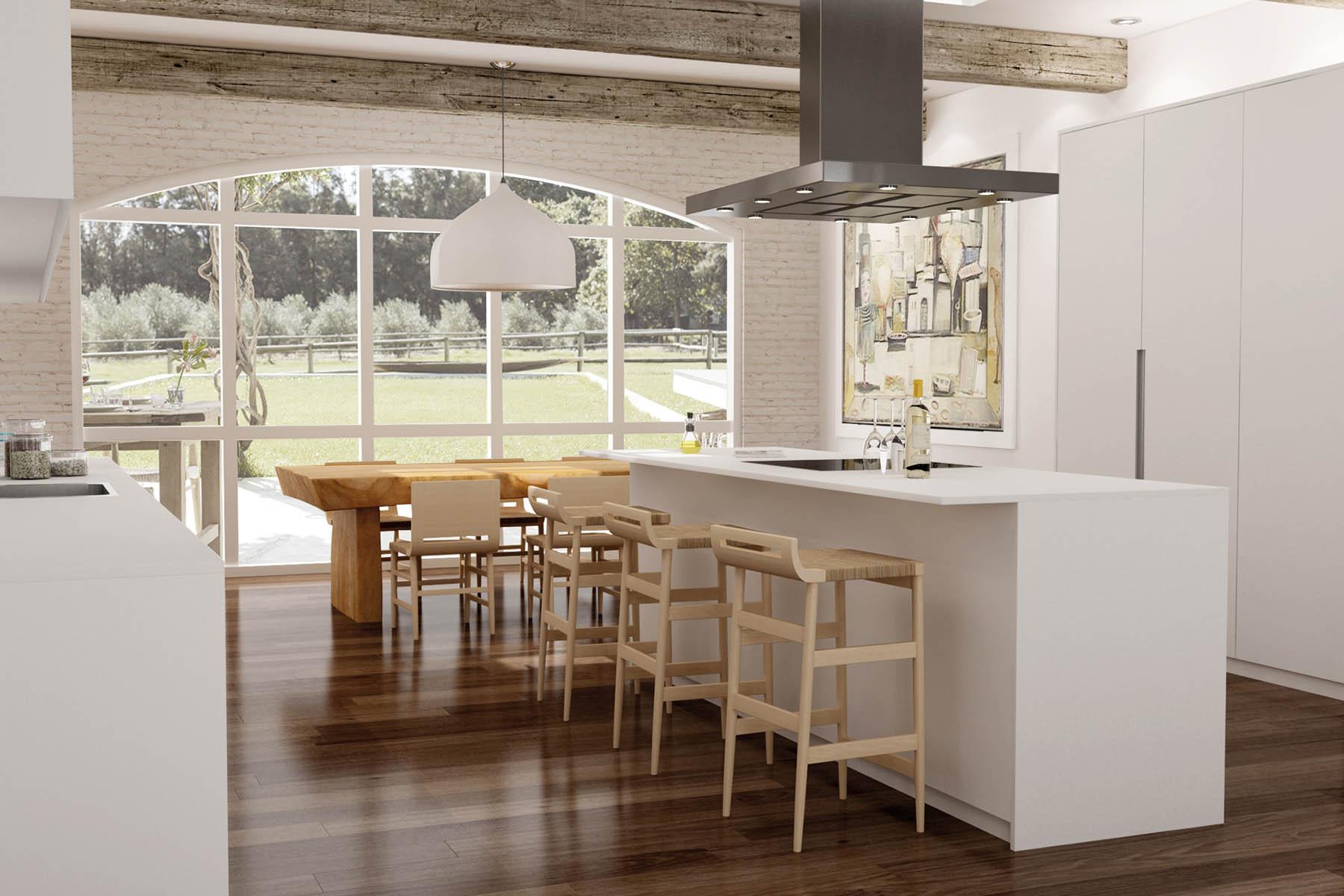 Cocinas modernas 2017 tendencias en dise o de cocinas for Cocinas para jardin
