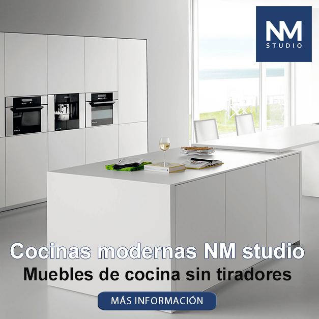 Cocinas modernas sin tiradores muebles de cocina para cocinas modernas y cocinas rusticas - Cocina sin tiradores ...