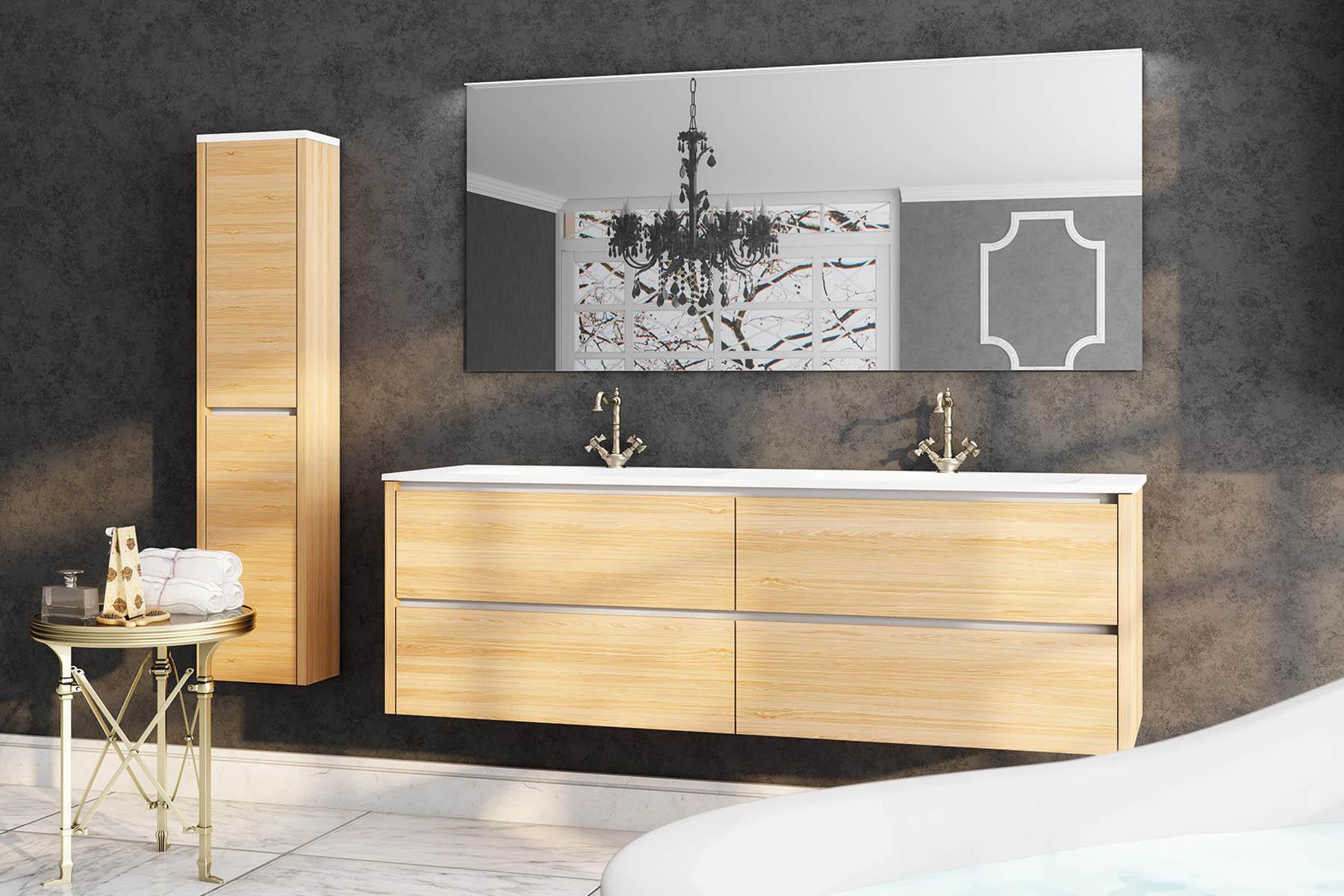 Muebles de ba o para cuartos de ba o elegantes y modernos for Factory de muebles en madrid