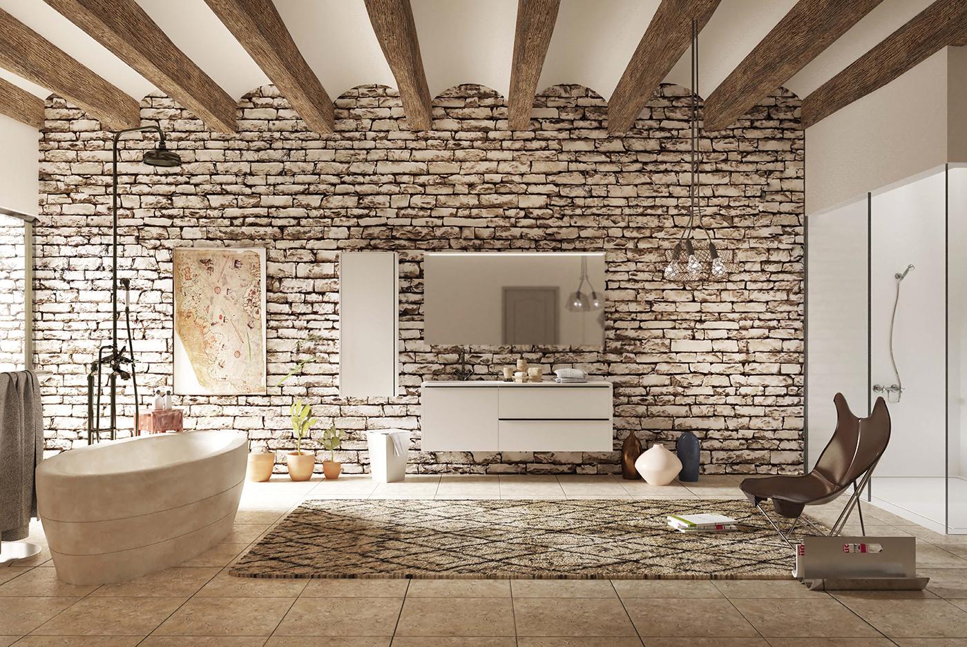 Muebles de baño para cuartos de baño elegantes y modernos ...